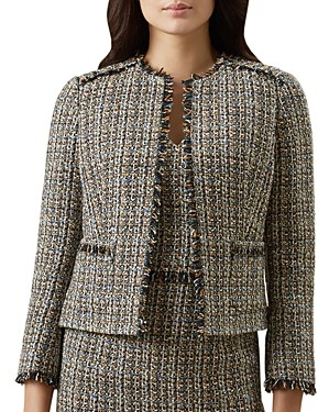 Hobbs London Jessie Tweed Jacket