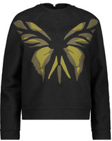 Valentino Embroidered Wool And Cashmere-Blend Felt Top