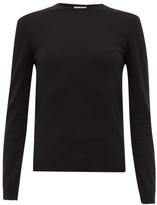 Giuliva Heritage Collection The Esthia Virgin Wool Sweater - Womens - Black