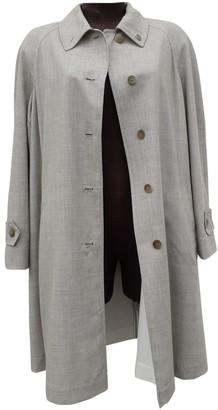 Philosophy di Alberta Ferretti Ecru Wool Coat for Women Vintage