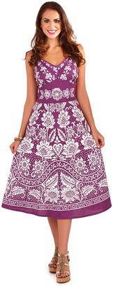 Pistachio Women's Midi Casual Dress Size-Small-Uk 8-10 Pink