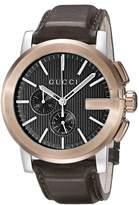 Gucci Men's YA101202 G - Chrono Collection Analog Display Swiss Quartz Watch