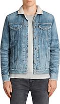 AllSaints Ikano Denim Jacket, Indigo Blue