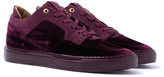 Android Homme Omega Low Wine Velvet Trainers