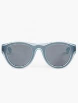 Mykita X Maison Margiela Teal Acetate Dual Sunglasses