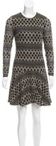 Ali Ro Jacquard Mini Dress