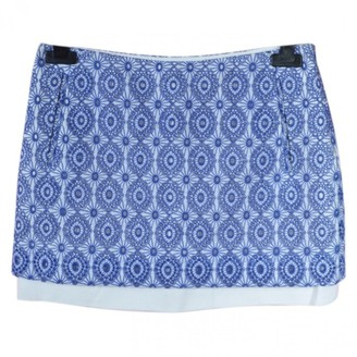Diane von Furstenberg Blue Cotton Skirts