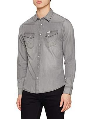 Wrangler Men's Western - Shirt Casual,Large