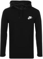 Long Sleeve Hooded T Shirt Shopstyle Uk