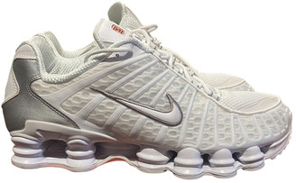 Nike White Rubber Trainers
