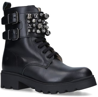 Florens Embellished Military Boots