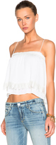 Derek Lam 10 Crosby Pleated 2 In 1 Cami Top