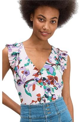 Kate Spade Fleur Nouveau Shell (Chalk Pink) Women's Clothing