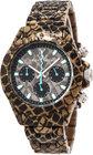 toywatch imprint reptileplasteramic chronograph watch taupe