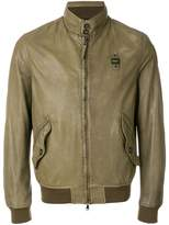 Blauer band collar bomber jacket
