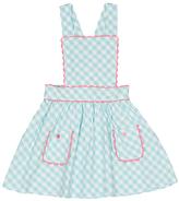 Mint & White Gingham Jordan Jumper - Toddler & Girls