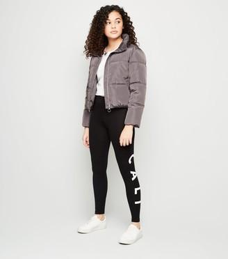 New Look Girls Cali Slogan Leggings