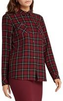 BCBGeneration Plaid Button Up Shirt