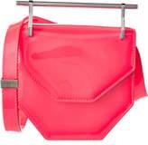 M2Malletier Mini Amor Fati Patent Shoulder Bag