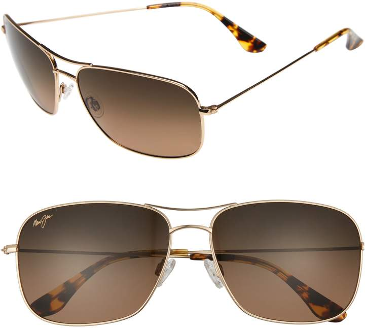 Maui Jim Breezeway 63mm PolarizedPlus2(R) Sunglasses
