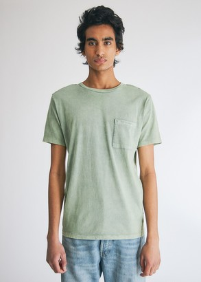 Levi's Men's Pocket T-Shirt in Washed Laurel Green, Size Small | 100% Cotton