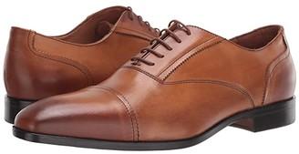 Massimo Matteo Dante Cap Toe Bal (Burnished Tan) Men's Shoes