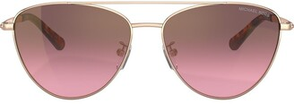 Michael Kors Aviator Shaped Sunglasses