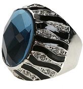 Zebra Gem Ring