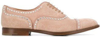 Church's crystal-embellished Oxford shoes