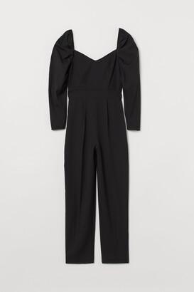 H&M Sweetheart-neckline Jumpsuit