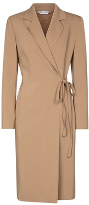 Max Mara Dono wool crepe midi dress