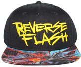 Bioworld Men's Licensed Reverse Flash - Forever Evil Brim Snapback Hat O/S