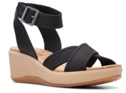 Clarks Cloudsteppers Women's Step CaliCoast Wedge Sandals Women's Shoes