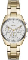 DKNY Women's Crosby Gold-Tone Stainless Steel Bracelet Watch 36mm NY2471
