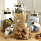 Williams-Sonoma Glass Canisters