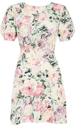 Faithfull The Brand Floral Sidonie Mini Dress
