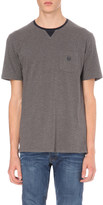 The Kooples Brand logo cotton-jersey t-shirt
