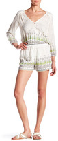Gypsy 05 Gypsy05 Printed Long Sleeve Romper