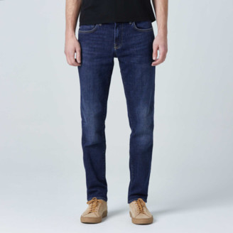DSTLD Skinny-Slim Jeans in Medium Blue