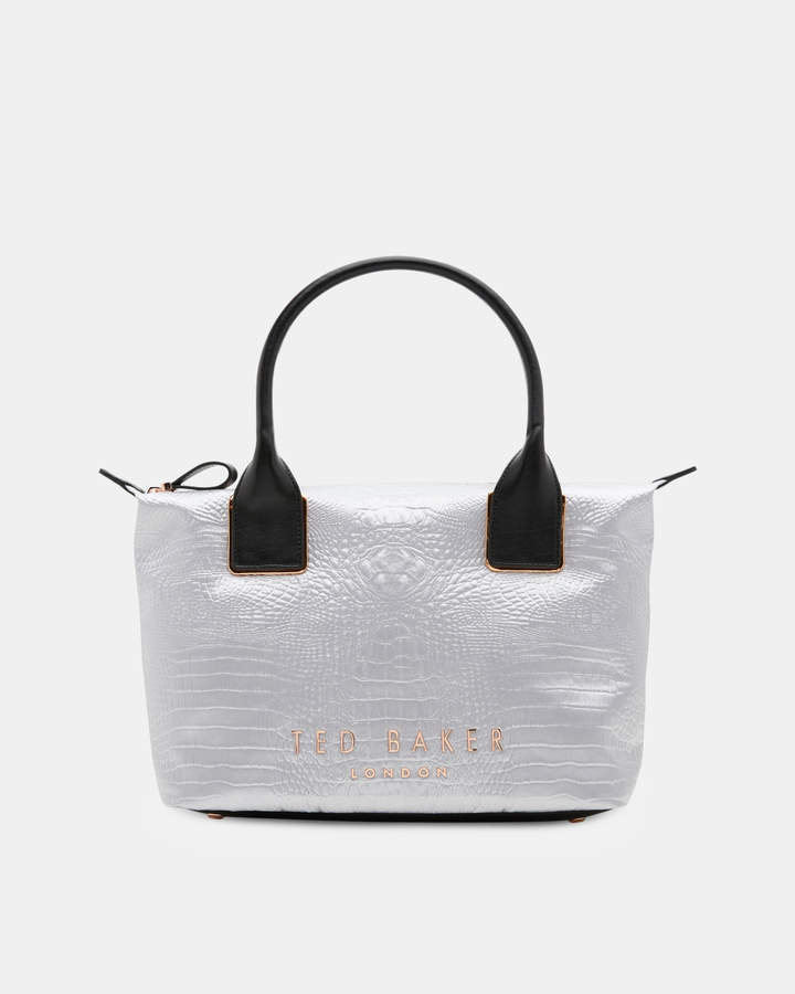 Ted Baker ZETAA Exotic small tote bag
