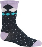 Richer Poorer Quimby Socks - Crew (For Little and Big Girls)