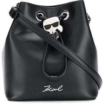 Karl Lagerfeld Paris Ikonik bucket bag