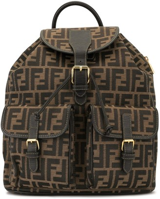 Fendi Pre-Owned Zucca pattern backpack