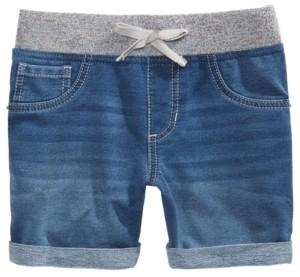 Imperial Star Big Girls Icarus Knit Denim-Look Shorts