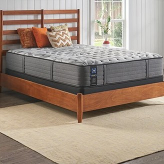 """Sealy Posturepedic Plus 12"""" Ultra Firm Tight Top Mattress And Box Spring Mattress Size: King, Box Spring Height: 9"""""""