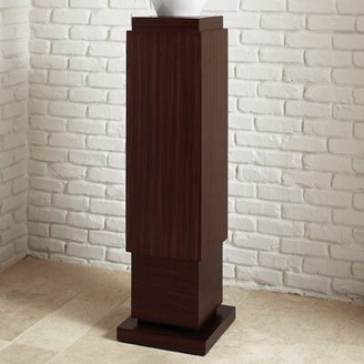 Global Views Square Pedestal Plant Stand
