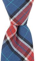 Original Penguin Jory Plaid Skinny Cotton Tie