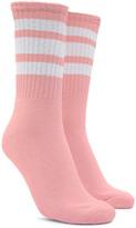Forever 21 FOREVER 21+ Varsity Stripe Crew Socks