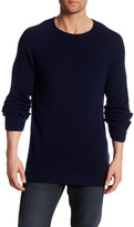 Billy Reid Directional Crew Neck Cashmere Sweater