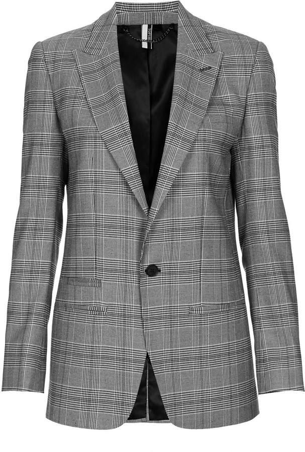 Topshop Modern tailoring tailored check jacket